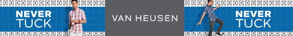 Van Heusen Ad